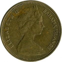 Монета > 1цент, 1966-1969 - Багамські острови  - obverse