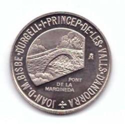 Moneta > 1dinaras, 1988 - Andora  - obverse