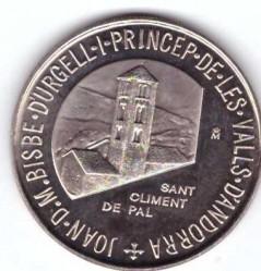 Moneta > 5dinarai, 1988 - Andora  - obverse