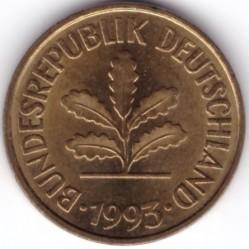 Münze > 5Pfennig, 1993 - Deutschland  - obverse