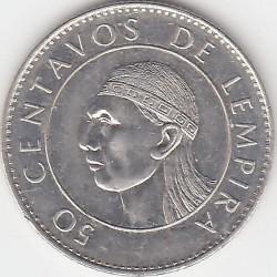 Moneta > 50sentavų, 1991-1994 - Hondūras  - reverse