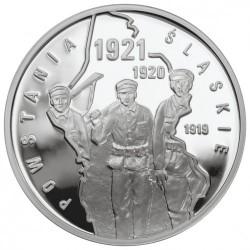 Moneda > 10zlotych, 2011 - Polonia  (Revuelta de Silesia) - reverse
