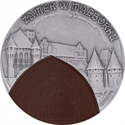 Moneda > 20 zlotych, 2002 - Polonia  (Polish Castles and Palaces - Malbork Castle) - reverse