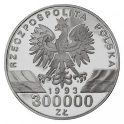 Moneta > 300000zlotų, 1993 - Lenkija  (Animals of the World - Swallow) - obverse