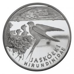 Moneta > 300000zlotų, 1993 - Lenkija  (Animals of the World - Swallow) - reverse