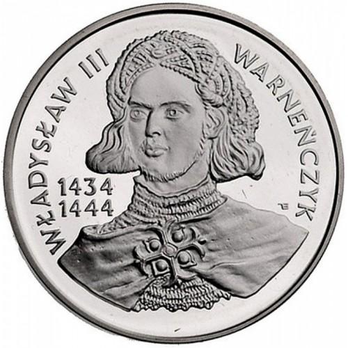 200000 Zloty 1992 Władysław Iii Of Poland Polen Münzen Wert