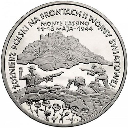 200000 Zloty 1994 Battle Of Monte Cassino Polen Münzen Wert