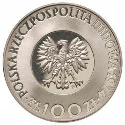 Монета > 100злотых, 1973-1974 - Польша  (500 лет со дня рождения Николая Коперника) - obverse
