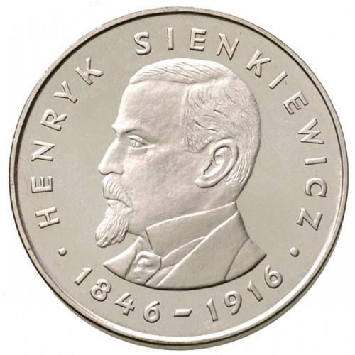 100 zlotych 1977 - Henryk Sienkiewicz, Poland - Coin value - uCoin net