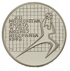 Moneta > 200zlotych, 1982 - Polonia  (XII Coppa del Mondo FIFA, Spagna 1982) - reverse