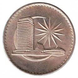 Coin > 1 ringgit, 1971-1986 - Malaysia  - obverse