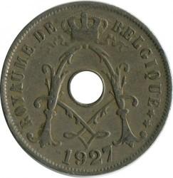Munt > 25centimes, 1913-1929 - Belgie  (Legend in French - 'ROYAUME DE BELGIQUE') - reverse