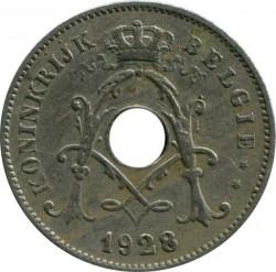 Moneta > 10centymów, 1920-1930 - Belgia  (Legenda po holendersku - 'KONINKRIJK BELGIË') - reverse