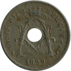 Moneta > 10centymów, 1920-1930 - Belgia  (Legend in Dutch - 'KONINKRIJK BELGIË') - obverse
