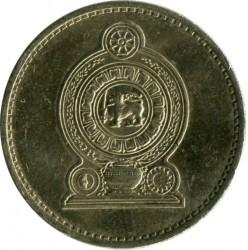Moneda > 5rupias, 1984-2004 - Sri Lanka  - obverse