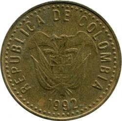 Moneda > 100pesos, 1992-2012 - Colombia  - reverse