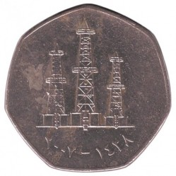 Кованица > 50филса, 1995-2007 - Уједињени Арапски Емирати  - obverse
