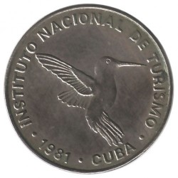 Monēta > 10sentavo, 1981 - Kuba  (Denomination w/o number 10) - obverse
