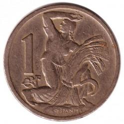 Moneta > 1korona, 1922-1938 - Czechosłowacja  - reverse