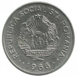 Moneta > 1leu, 1966 - Romania  - obverse