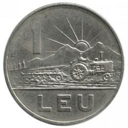 Moneta > 1leu, 1966 - Romania  - reverse