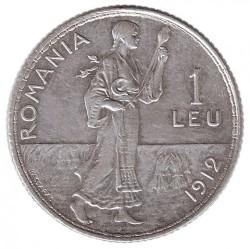 Pièce > 1leu, 1910-1914 - Roumanie  - reverse