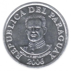 Coin > 50 guaranies, 2006-2016 - Paraguay  - obverse