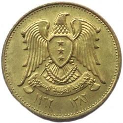 Moneta > 5piastrów, 1962-1965 - Syria  - obverse