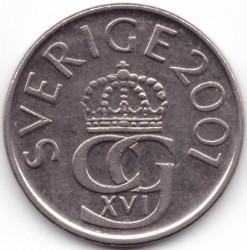 Монета > 5крони, 1993-2009 - Швеция  - obverse