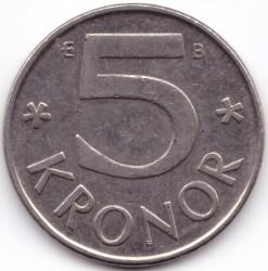 Монета > 5крони, 1993-2009 - Швеция  - reverse