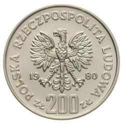 Moneda > 200zlotych, 1980 - Polonia  (Duque Kazimierz I Odnowiciel) - obverse