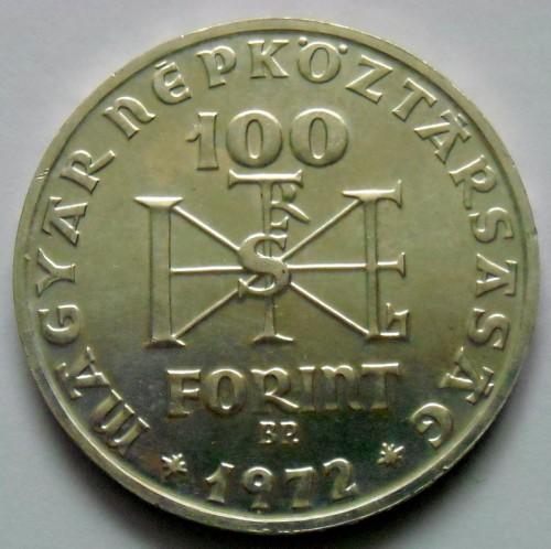 100 Forint 1972 Stephen I Of Hungary Ungarn Münzen Wert Ucoinnet