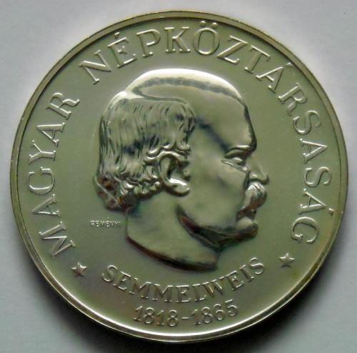 100 Forint 1968 Ignaz Semmelweis Ungarn Münzen Wert Ucoinnet
