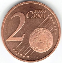 Moeda > 2cêntimosdeeuro, 1999-2013 - Holanda  - obverse