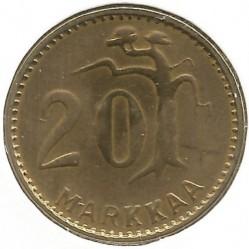 Münze > 20Mark, 1953 - Finnland  - reverse