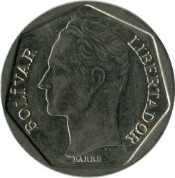 Münze > 500Bolivares, 1998 - Venezuela  - reverse