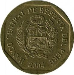 Pièce > 20céntimos, 2001-2018 - Pérou  - reverse
