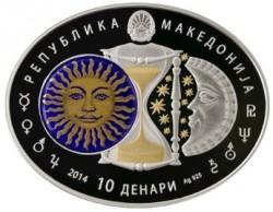 Moneta > 10denarów, 2014 - Macedonia  (Skorpion) - obverse