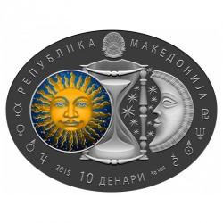 Moneda > 10denares, 2015 - Macedonia  (Aries) - obverse