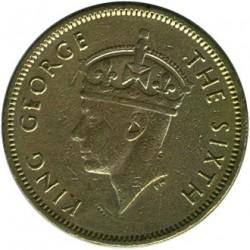 Moneta > 10centesimi, 1948-1951 - Hong Kong  - obverse