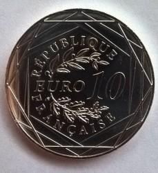 Moneda > 10euros, 2016 - Francia  (Gallo) - obverse