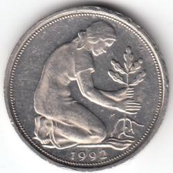 Münze > 50Pfennig, 1992 - Deutschland  - obverse