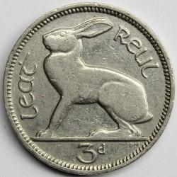 Münze > 3Pence, 1934 - Irland   - obverse