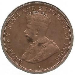 Mynt > 1cent, 1931-1934 - Hong Kong  - obverse