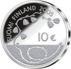 Монета > 10євро, 2005 - Фінляндія  (60-та річниця - Мир) - reverse