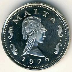 Monedă > 2cenți, 1972-1982 - Malta  - obverse