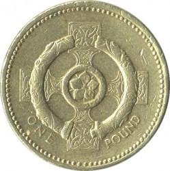 العملة > 1جنيه, 1996 - المملكة المتحدة  - obverse