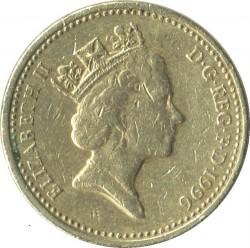 العملة > 1جنيه, 1996 - المملكة المتحدة  - reverse