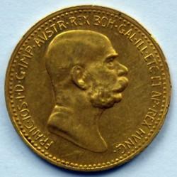 Moneda > 10kronen, 1909 - Àustria  (Sense inscripció sota del bust) - obverse