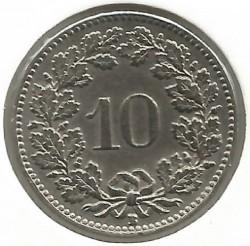 錢幣 > 10拉彭, 1932-1939 - 瑞士  - reverse